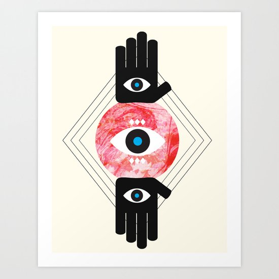 DREVM EYE Art Print