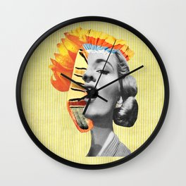 Cubicles Wall Clock