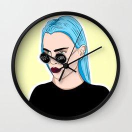 #sorrynotsorry Wall Clock