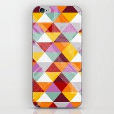 Triagles warm iPhone & iPod Skin