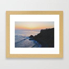 PV Sunset Framed Art Print