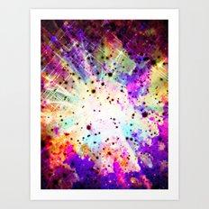 Star Burst Art Print