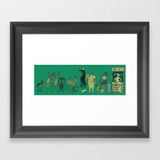 My Turn! Framed Art Print
