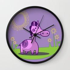 L. Horse Wall Clock