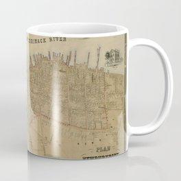 Map of Newburyport 1851 Coffee Mug