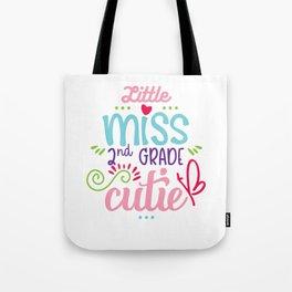 Little Miss 2nd Grade Cutie Tote Bag