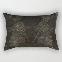 Japanese Fireman Rectangular Pillow