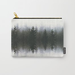 Sound waves -woods Carry-All Pouch