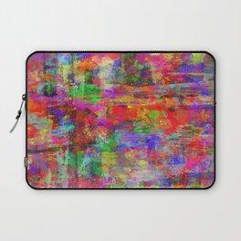 Vibrant Chaos - Mixed Colour Abstract Laptop Sleeve