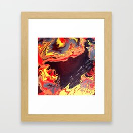 Burning Within Framed Art Print