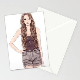 The New Girl Stationery Cards