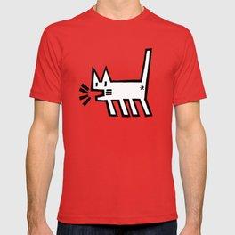 Meowing Cat T-shirt