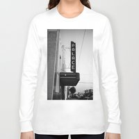 theater Long Sleeve T-shirts featuring Palace Theater by Teran Jones