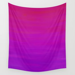 Purple Dusk Ombre Wall Tapestry