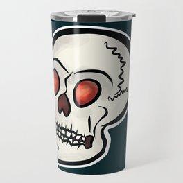 Mr. Skull (Blue) Travel Mug