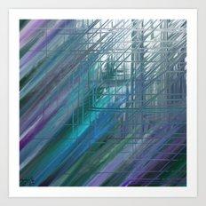 convergence, divergence Art Print