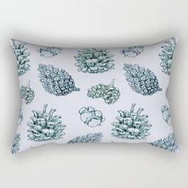 winter cone pattern I Rectangular Pillow