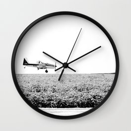 Plane Landscape Wall Clock