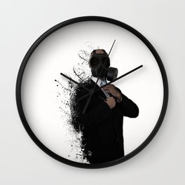 Dissolution of man Wall Clock