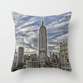 Empire State of Mind Throw Pillow
