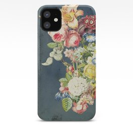 Floral Tribute to Louis McNeice iPhone Case