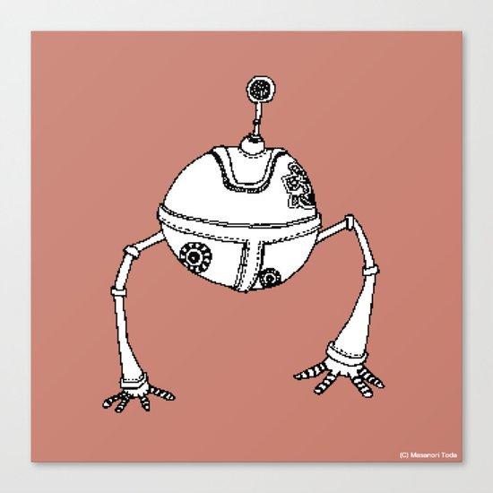 The Devoted Robot ( HQ pixel ) Canvas Print