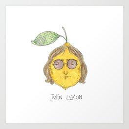 John Lemon Art Print