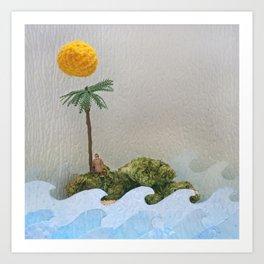 High-O-Rama Series: Lone Island Art Print