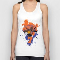 nba Tank Tops featuring NBA Stars: Carmelo Anthony by Akyanyme