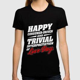 Anti Christmas Day Love Ugly Christmas gift T-shirt