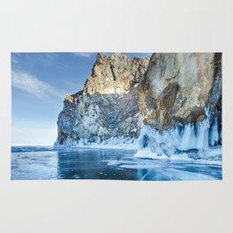 Blue Ice of the Lake Baikal Rug