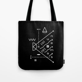 Soundbeams Tote Bag