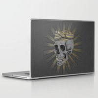 stay gold Laptop & iPad Skins featuring stay gold by Laura Graves