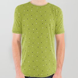 Chemistry Class Doodles - Lime All Over Graphic Tee