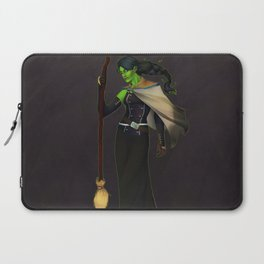 Elphaba, The Wicked Witch Laptop Sleeve