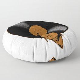 Afrovinyl (Brown) Floor Pillow
