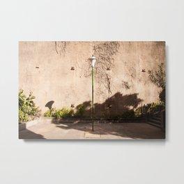The lonely lantern Metal Print