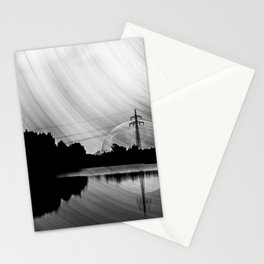 Nature lake in swabia Stationery Cards