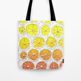 Red Lemonade Tote Bag