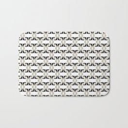 Shoe Pattern - Oscar de la Renta Harriet Bath Mat