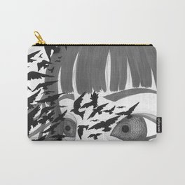 Kaleidoscope Eyes Carry-All Pouch