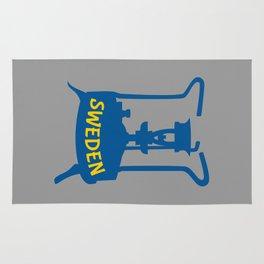 Sweden | Brass Pressure Stove Rug
