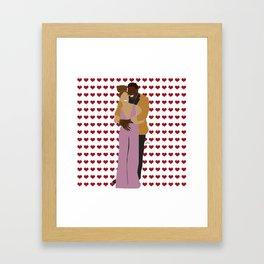 Bawse Love 05 Framed Art Print