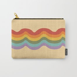 Rainbow Stripe 3 Carry-All Pouch
