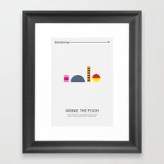 Winnie-The-Pooh Framed Art Print