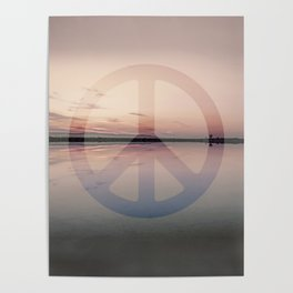 Calm Waters And Peace Poster