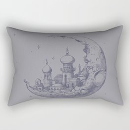 Arabian Crescent Rectangular Pillow
