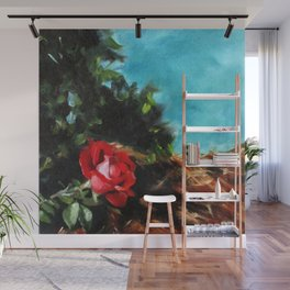 Knock Out Rose Wall Mural