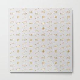 Everlark pattern Metal Print