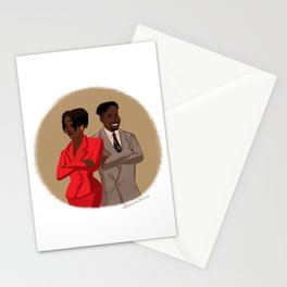 Maxine Shaw and Kyle Barker / Living Single Stationery Cards